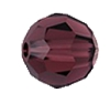 Swarovski 5000 Round Bead 6mm Burgundy