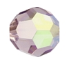 Swarovski 5000 Round Bead 8mm Light Amethyst AB Full Coating (288 Pieces)