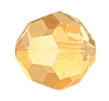 Swarovski 5000 Round Bead 10mm Crystal Metallic Sunshine