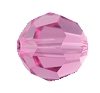 Swarovski 5000 Round Bead 3mm Rose
