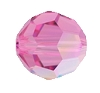 Swarovski 5000 Round Bead 4mm Rose AB