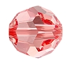 Swarovski 5000 Round Bead 3mm Rose Peach
