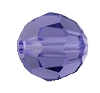 Swarovski 5000 Round Bead 3mm Tanzanite