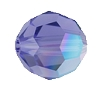 Swarovski 5000 Round Bead 4mm Tanzanite AB