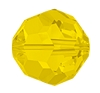 Swarovski 5000 Round Bead 4mm Yellow Opal