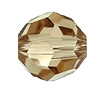 Swarovski 5000 Round Bead 10mm Light Colorado Topaz
