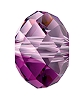 Swarovski 5040 Briolette Bead 12mm Amethyst Blend (144 Pieces)