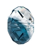 Swarovski 5040 Briolette Bead 12mm Crystal Montana Blend (144 Pieces)