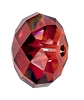 Swarovski 5040 Briolette Bead 12mm Crystal Red Magma (144 Pieces)