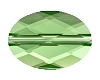 Swarovski 5050 Oval Bead 14x10mm Peridot (72 Pieces)