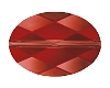 Swarovski 5050 Oval Bead 14x10mm Crystal Red Magma (72 Pieces)