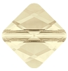 Swarovski 5054 Mini Rhombus Bead 6mm Light Silk (288 Pieces)