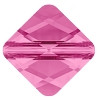 Swarovski 5054 Mini Rhombus Bead 6mm Rose (288 Pieces)