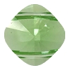 Swarovski 5180 Square (2-Hole) Bead 14x14mm Peridot (144 Pieces)