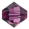 Swarovski 5328 Bicone Bead 5mm Amethyst (144 Pieces) - CLEARANCE