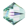Swarovski 5328 Bicone Bead 3mm Chrysolite AB