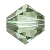 Swarovski 5328 Bicone Bead 4mm Chrysolite Satin