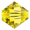 Swarovski 5328 Bicone Bead 5mm Citrine (144 Pieces) - CLEARANCE