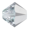 Swarovski 5328 Bicone Bead 5mm Crystal Comet Argent Light
