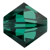 Swarovski 5328 Bicone Bead 5mm Emerald (144 Pieces) - CLEARANCE