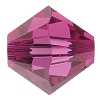Swarovski 5328 Bicone Bead 5mm Fuchsia (144 Pieces) - CLEARANCE