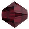 Swarovski 5328 Bicone Bead 5mm Garnet (144 Pieces) - CLEARANCE