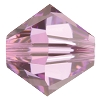 Swarovski 5328 Bicone Bead 3mm Light Amethyst