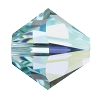 Swarovski 5328 Bicone Bead 4mm Light Azore AB