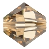 Swarovski 5328 Bicone Bead 6mm Light Colorado Topaz