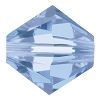 Swarovski 5328 Bicone Bead 5mm Light Sapphire (144 Pieces) - CLEARANCE