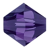 Swarovski 5328 Bicone Bead 5mm Purple Velvet (144 Pieces) - CLEARANCE