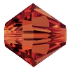Swarovski 5328 Bicone Bead 3mm Crystal Red Magma