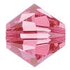Swarovski 5328 Bicone Bead 10mm Rose