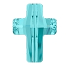 Swarovski 5378 Cross Bead 14mm Light Turquoise (72 Pieces)