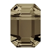 Swarovski 5514 Pendulum Bead 10x7mm Smoky Quartz
