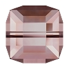 Swarovski 5601 Cube Bead 6mm Crystal Antique Pink (144 Pieces)