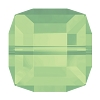Swarovski 5601 Cube Bead 8mm Chrysolite Opal (96 Pieces)