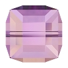 Swarovski 5601 Cube Bead 4mm Crystal Lilac Shadow (288 Pieces)