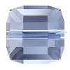 Swarovski 5601 Cube Bead 4mm Light Sapphire (288 Pieces)