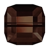 Swarovski 5601 Cube Bead 8mm Mocca (96 Pieces)