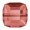 Swarovski 5601 Cube Bead 6mm Padparadscha (144 Pieces)