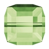 Swarovski 5601 Cube Bead 4mm Peridot (288 Pieces)