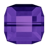 Swarovski 5601 Cube Bead 8mm Purple Velvet (96 Pieces)