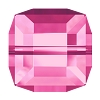 Swarovski 5601 Cube Bead 8mm Rose (96 Pieces)