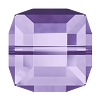 Swarovski 5601 Cube Bead 8mm Tanzanite (96 Pieces)