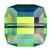 Swarovski 5601 Cube Bead 4mm Crystal Vitrail Medium (288 Pieces)