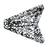 Swarovski 5748 Arrow Bead 12mm Crystal Black Patina (72 Pieces)