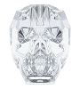 Swarovski 5750 Skull Bead 13mm Crystal (12 Pieces)