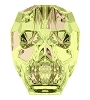Swarovski 5750 Skull Bead 13mm Crystal Luminous Green (12 Pieces)