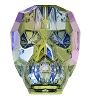 Swarovski 5750 Skull Bead 13mm Crystal Paradise Shine (12 Pieces)